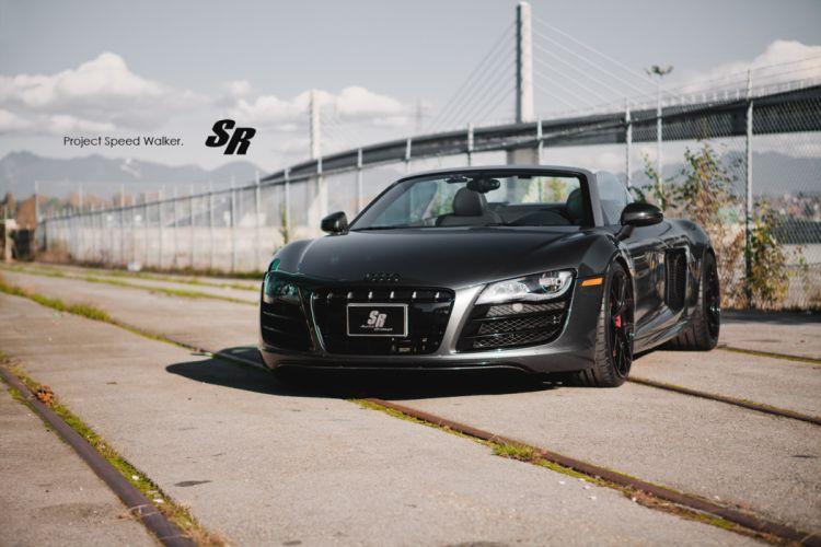 2012 SR-Auto Audi R-8 Spyder tuning wallpaper