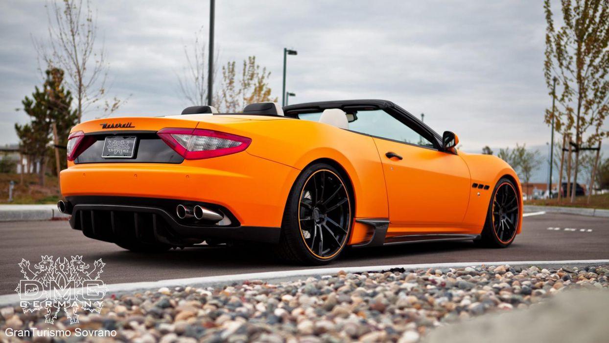 2012 DMC Maserati Gran Turismo Sovrano tuning convertible r wallpaper
