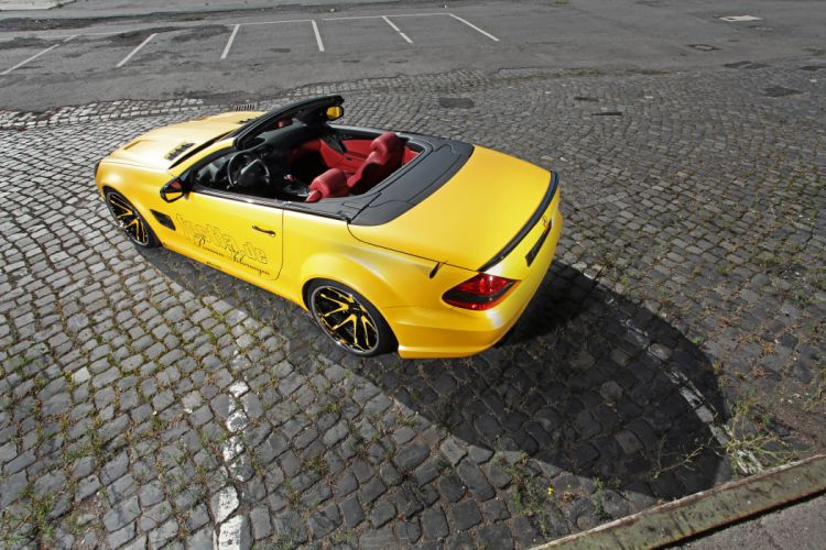 2012 Fostla Mercedes Benz SL-55 AMG tuning supercar supercars i wallpaper
