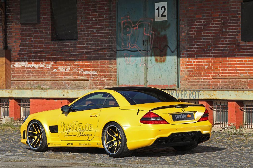 2012 Fostla Mercedes Benz SL-55 AMG tuning supercar supercars s wallpaper