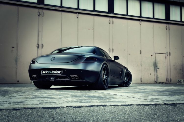 2012 Kicherer Mercedes Benz SLS 6-3 AMG Supercharged G-T tuning supercar supercars r wallpaper