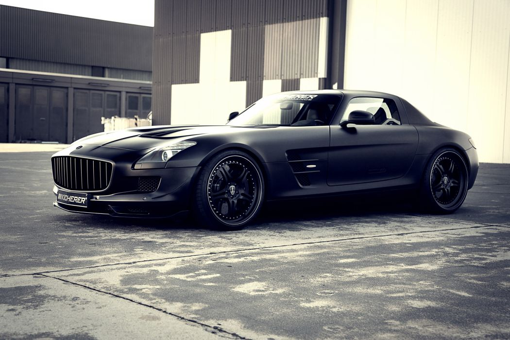 2012 Kicherer Mercedes Benz SLS 6-3 AMG Supercharged G-T tuning supercar supercars w wallpaper