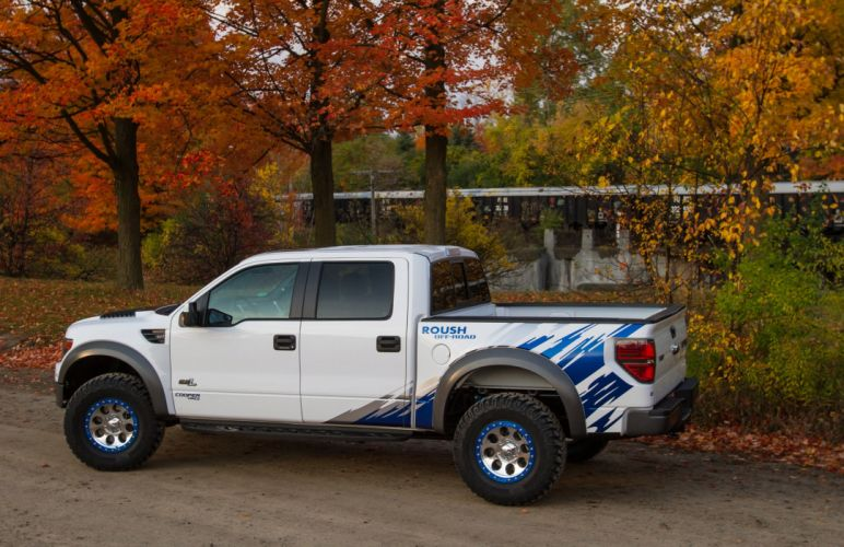 2012 ROUSH Performance Ford Raptor Phase-2 offroad 4x4 tuning h wallpaper