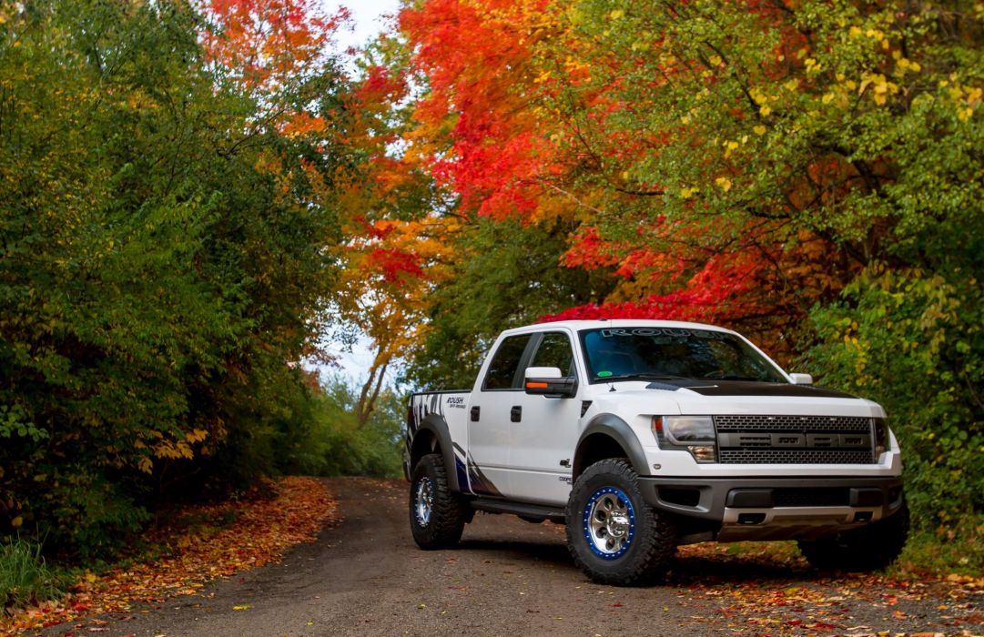 2012 ROUSH Performance Ford Raptor Phase-2 offroad 4x4 tuning q wallpaper