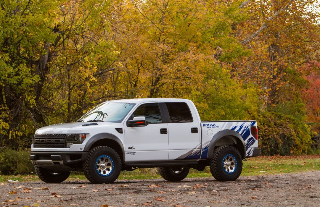 2012 ROUSH Performance Ford Raptor Phase-2 offroad 4x4 tuning u wallpaper