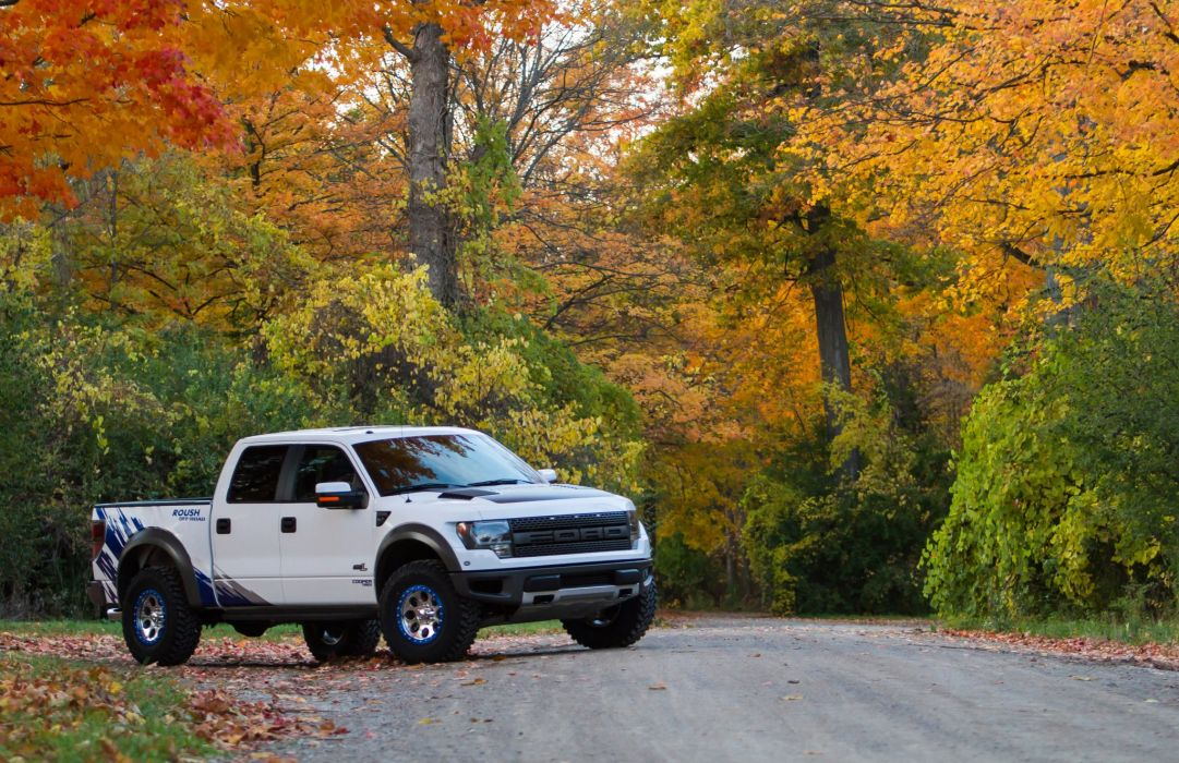 2012 ROUSH Performance Ford Raptor Phase-2 offroad 4x4 tuning w wallpaper