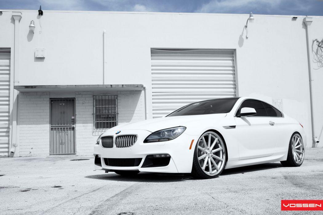 2012 SR-Auto BMW 650i Vossen VVS-CV1 tuning q wallpaper