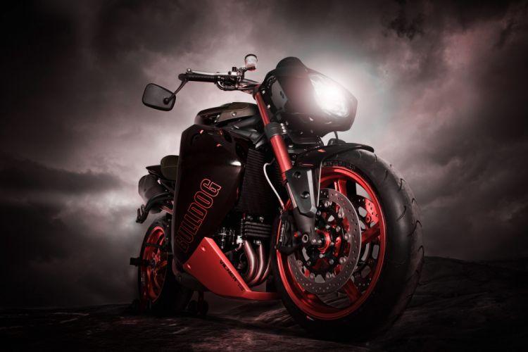 2012 Vliner Triumph Speed Tripple Bulldog sportbike sportbikes tuning bike q wallpaper