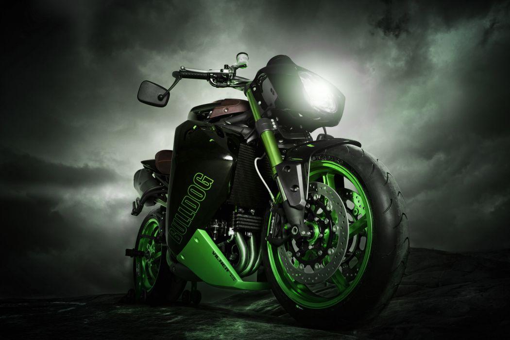2012 Vliner Triumph Speed Tripple Bulldog sportbike sportbikes tuning bike g wallpaper