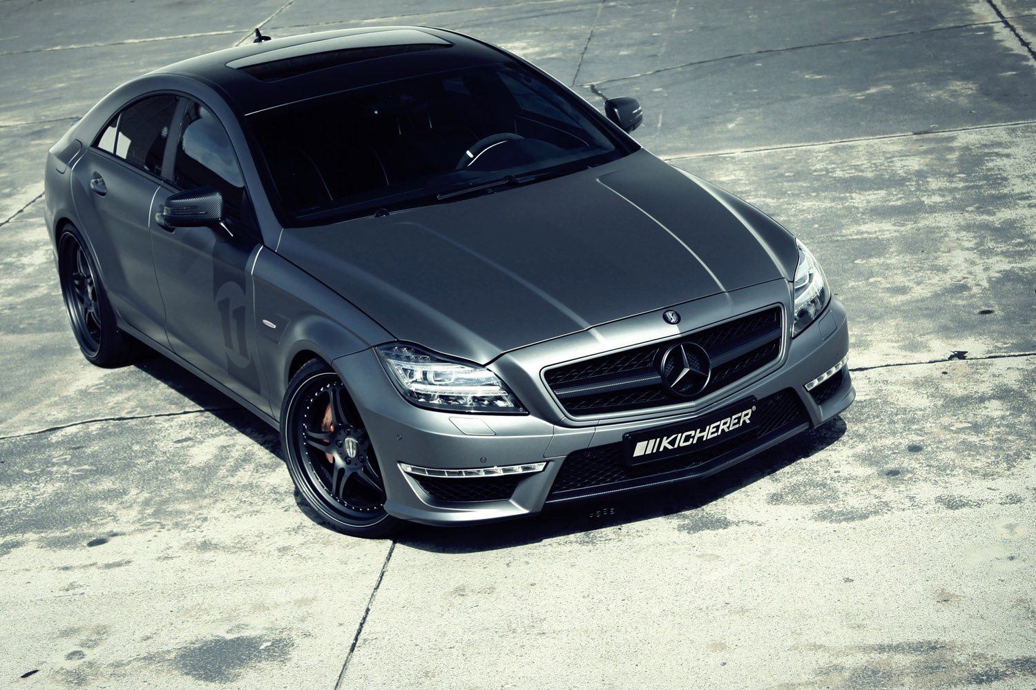 2013 kicherer mercedes benz cls 63 amg yachting cls tuning. Black Bedroom Furniture Sets. Home Design Ideas