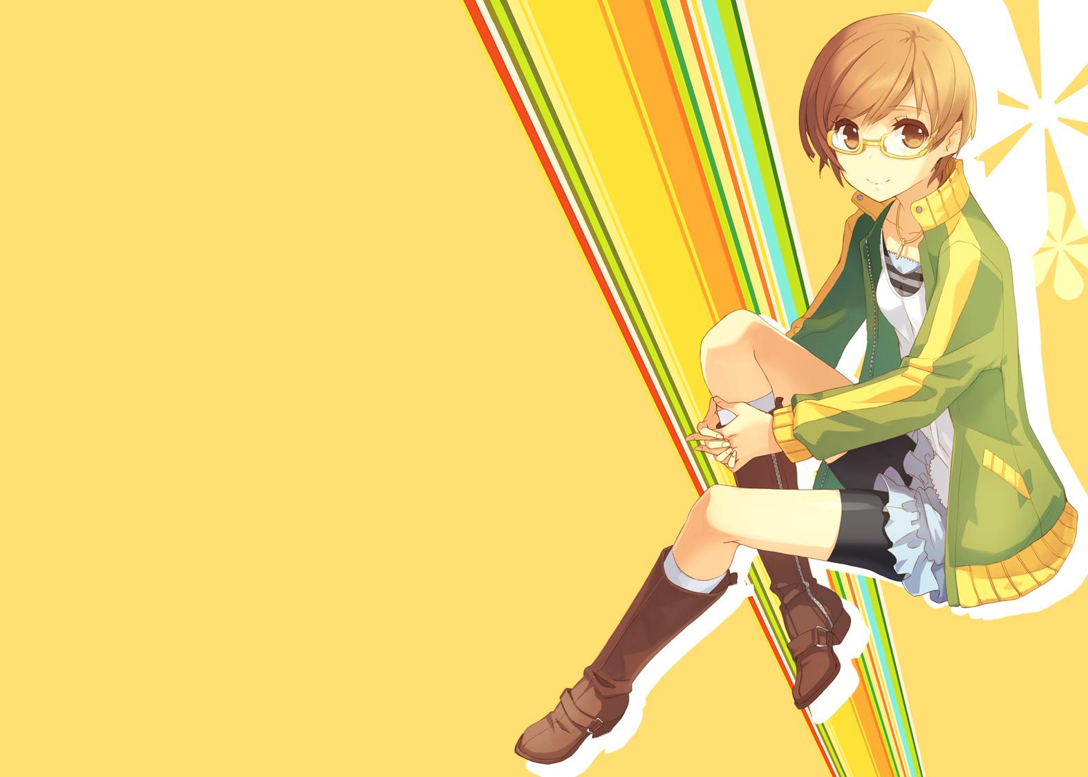 Persona 4 satonaka chie g wallpaper   1574x1125   82443 ...