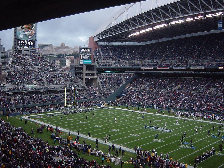 Seattle Seahawks nfl football sport stadium architecture building buildings sport      d wallpaper