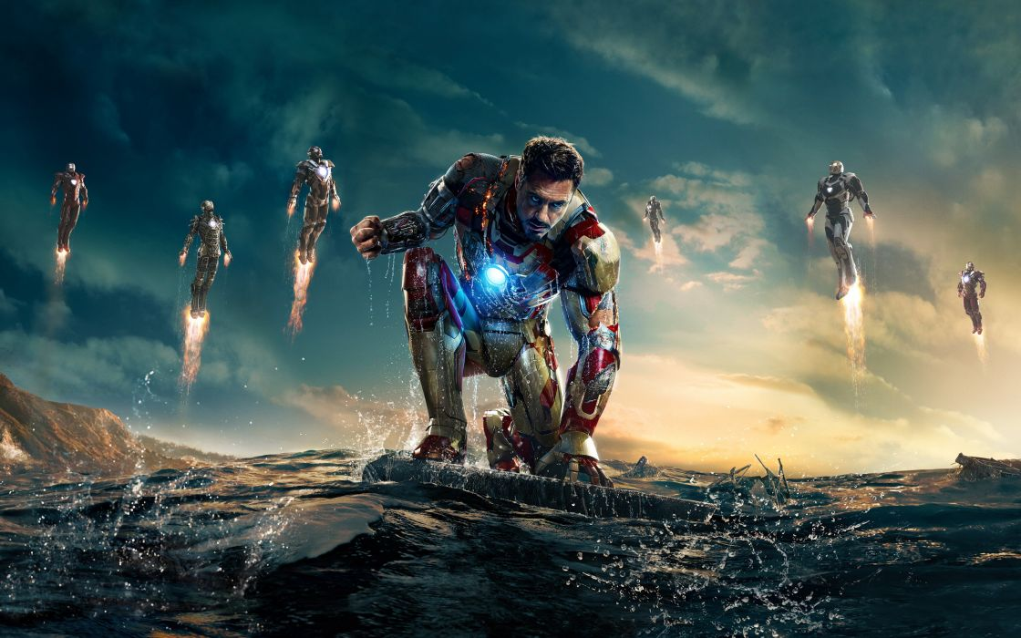 Iron Man Robert Downey Jr superhero wallpaper