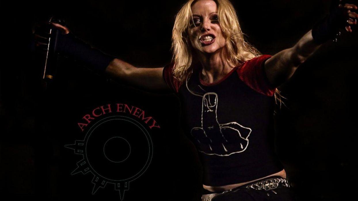 ARCH ENEMY technical power death metal hard rock heavy      b wallpaper