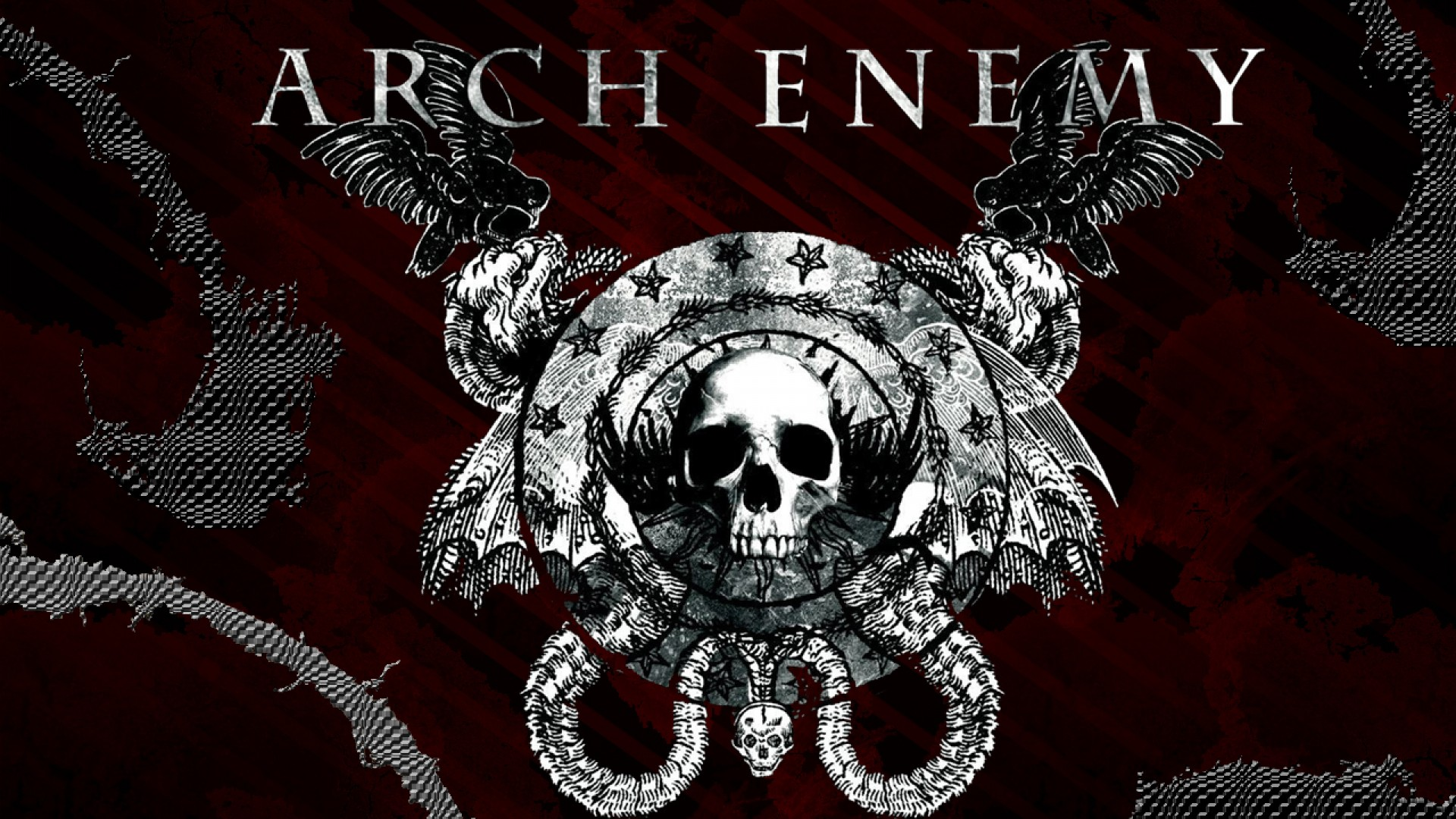 Arch enemy technical power death metal hard rock heavy o - Death metal wallpaper ...