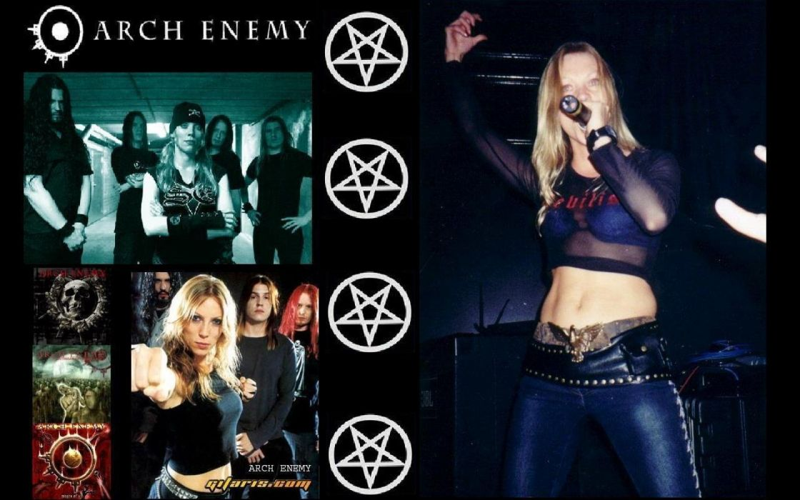 ARCH ENEMY technical power death metal hard rock heavy concert concerts     d wallpaper