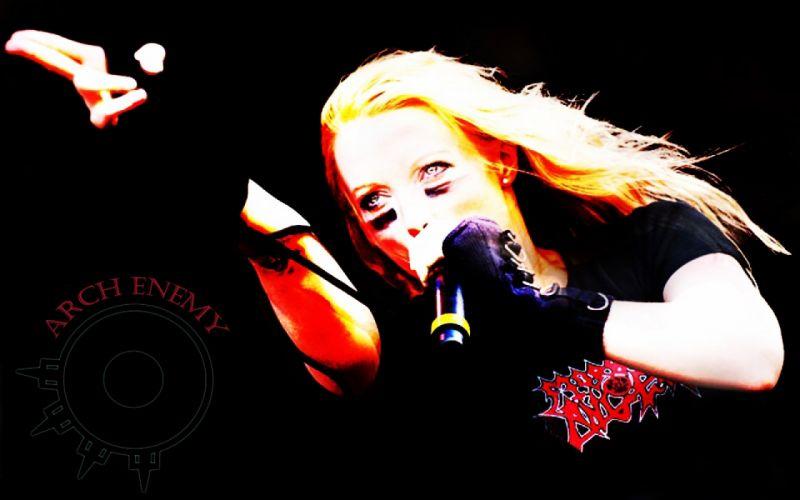 ARCH ENEMY technical power death metal hard rock heavy concert concerts z wallpaper