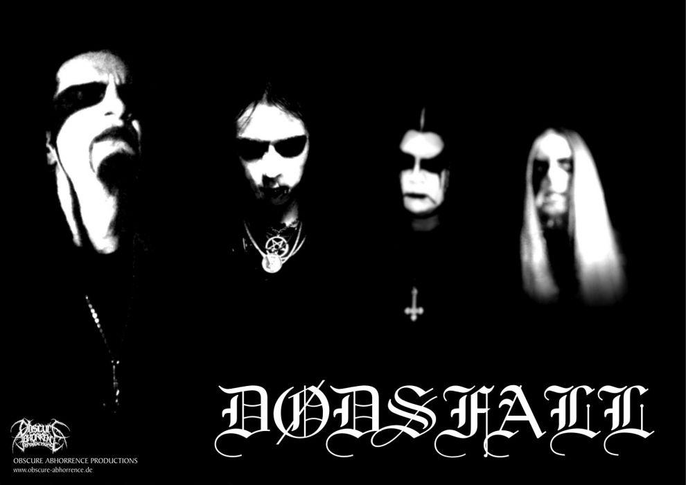 DODSFALL black metal heavy hard rock q wallpaper