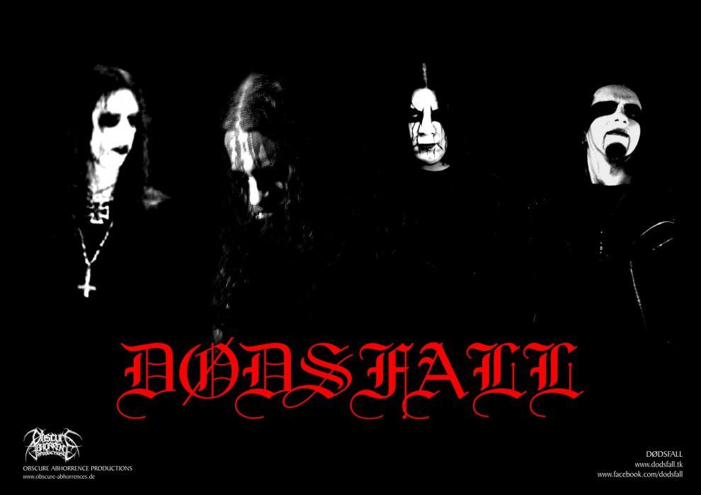 DODSFALL black metal heavy hard rock wallpaper