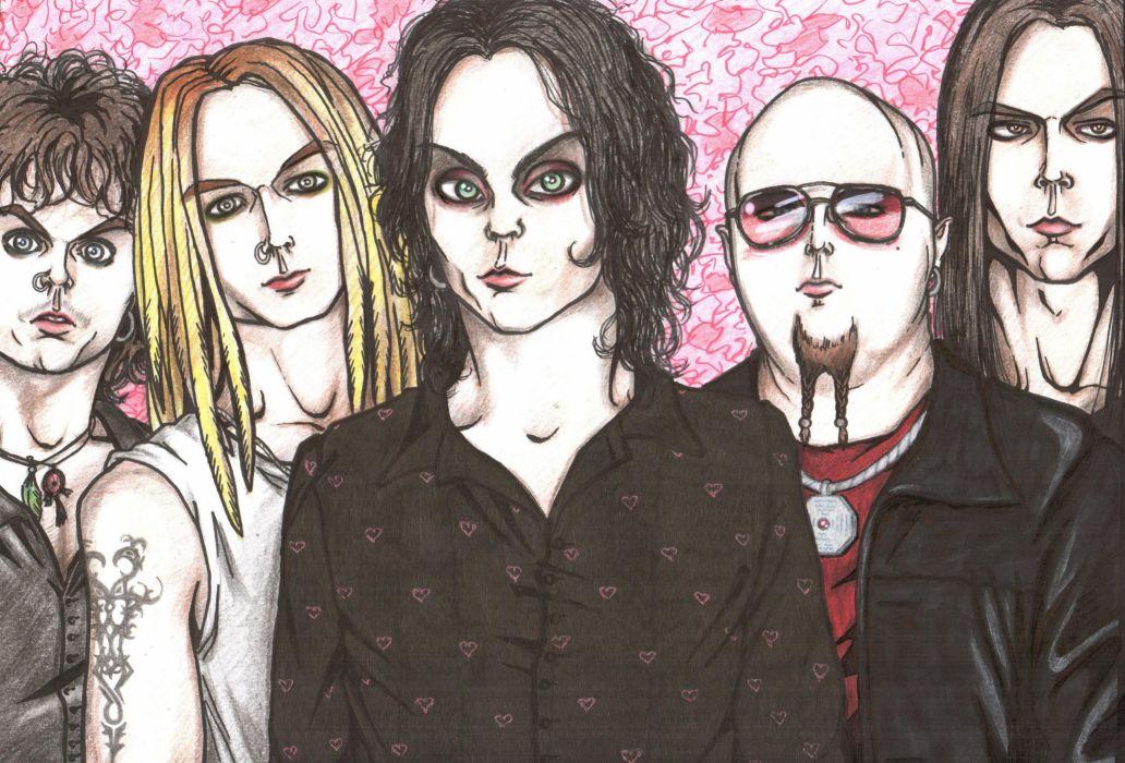 H_I_M His-Infernal-Majesty H-I-M nu-metal metal hard rock ville    x wallpaper