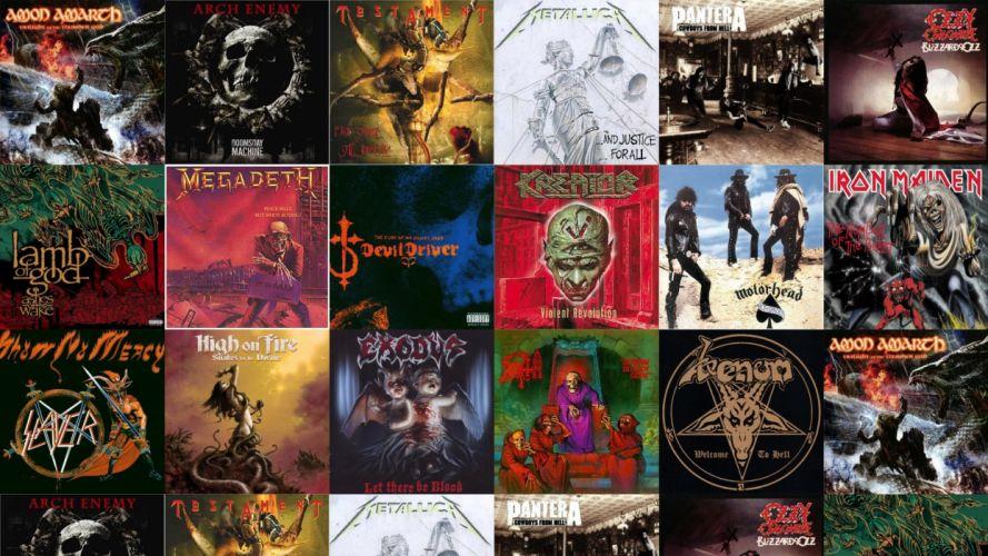 heavy metal hard rock album wallpaper