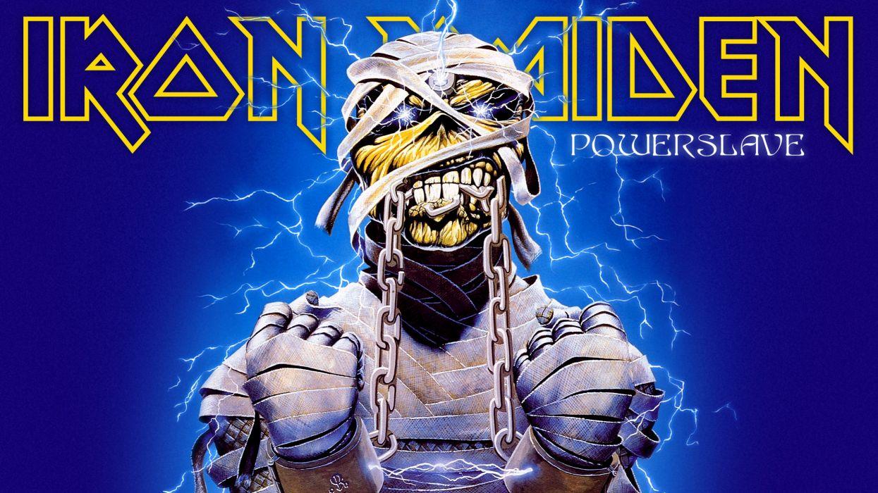 Iron Maiden eddie futuristic sci-fi sci heavy metal   f wallpaper
