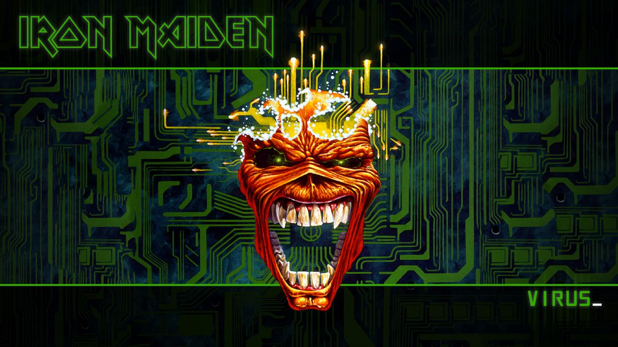 iron maiden heavy metal eddie wallpaper