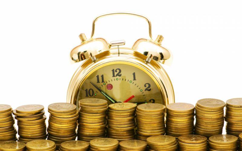 time money coins clock watch humor wallpaper