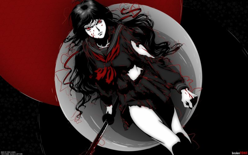 BLOOD-C Saya Kisaragi wallpaper