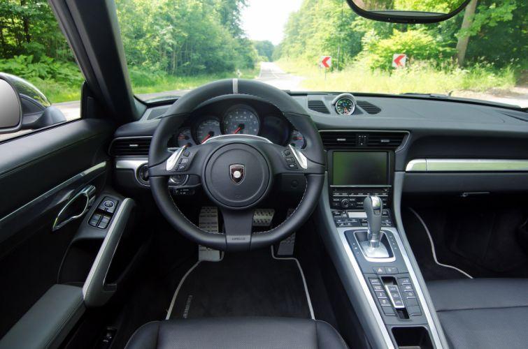 2012 Gemballa Porsche 991 Carrera-S GT-Cabriolet Carrera Cabriolet tuning interior dash steering wallpaper