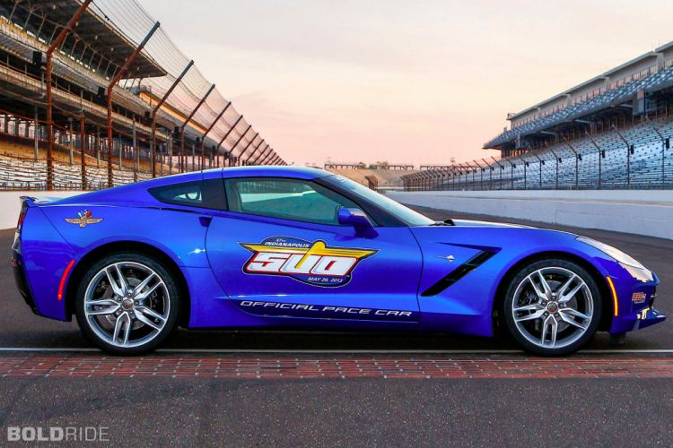 2014 Chevrolet Corvette Stingray Indy 500 Pace supercar supercars muscle r wallpaper