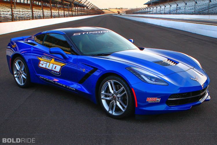 2014 Chevrolet Corvette Stingray Indy 500 Pace supercar supercars muscle wallpaper