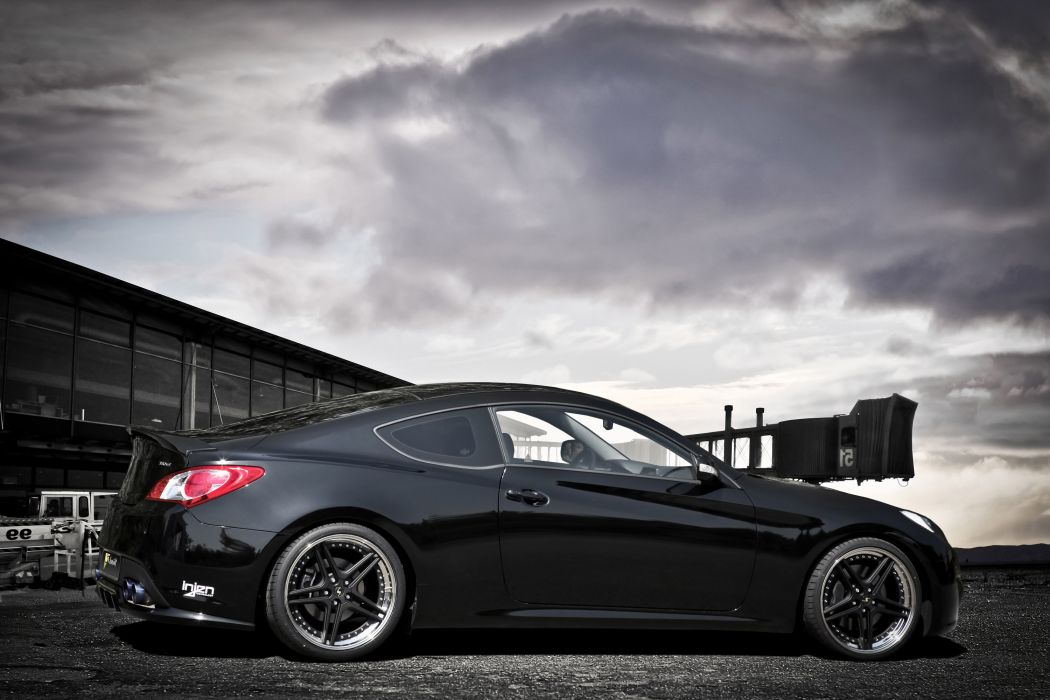 Hyundai Genesis Coupe Project Panther tuning q wallpaper