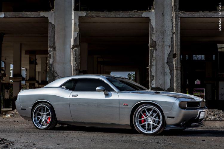 2012 ADV-1 Dodge Challenger SRT8 muscle tuning w wallpaper