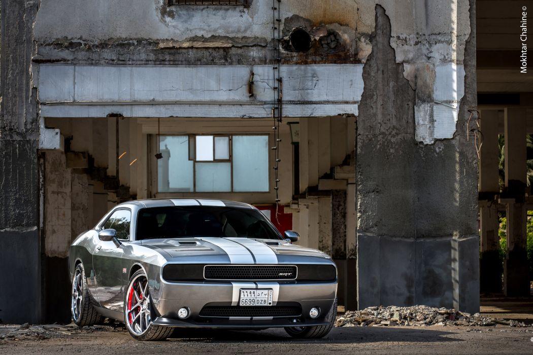 2012 ADV-1 Dodge Challenger SRT8 muscle tuning wallpaper
