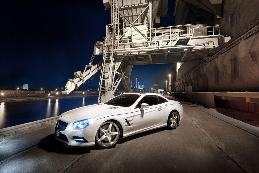 2012 Graf Weckerle Mercedes Benz SL-500 tuning 500 q wallpaper