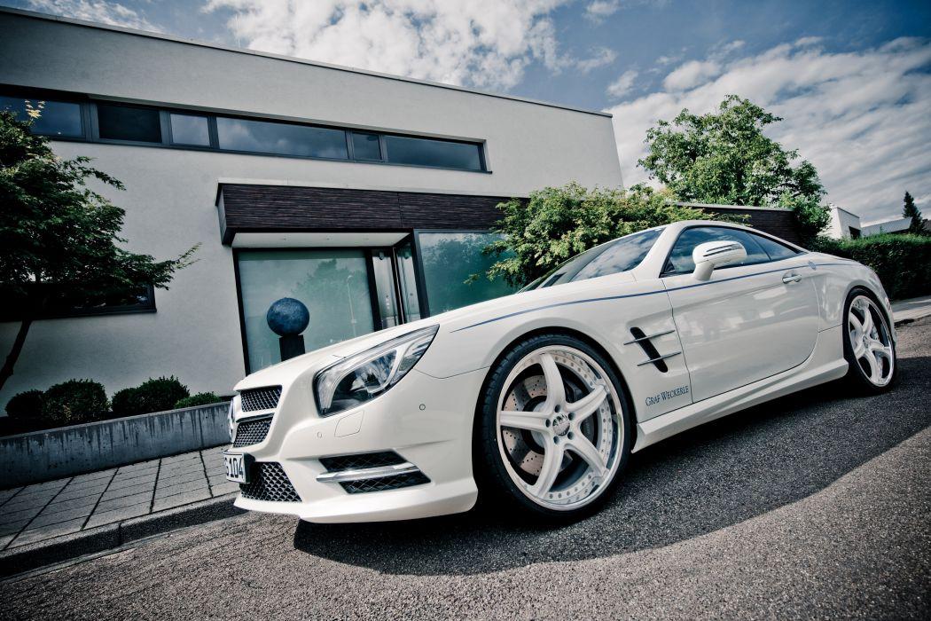 2012 Graf Weckerle Mercedes Benz SL-500 tuning 500 r wallpaper