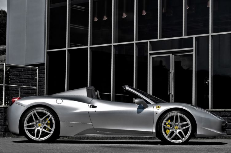 2012 Kahn Ferrari 458 Spider supercars supercar q wallpaper