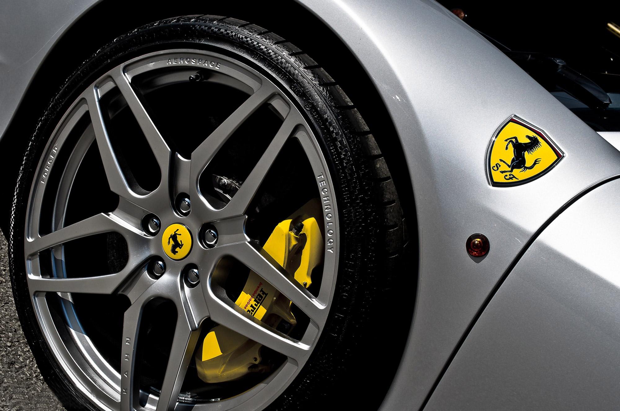 Kahn Ferrari Spider Supercars Supercar Wheels Wheel