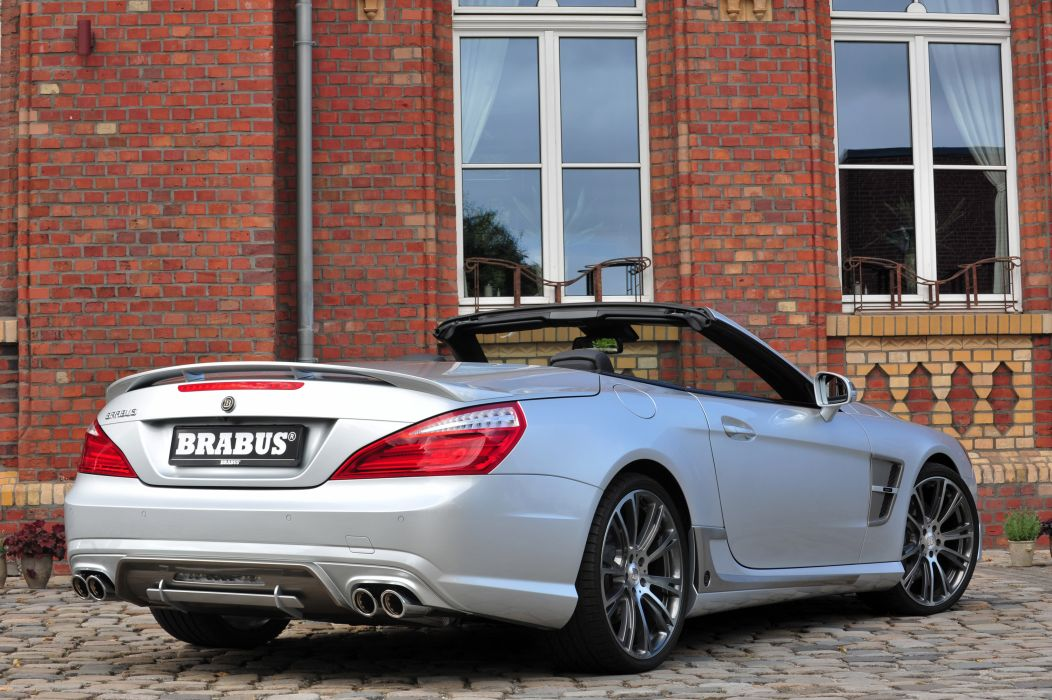 2013 Brabus Mercedes SL-Class tuning q wallpaper