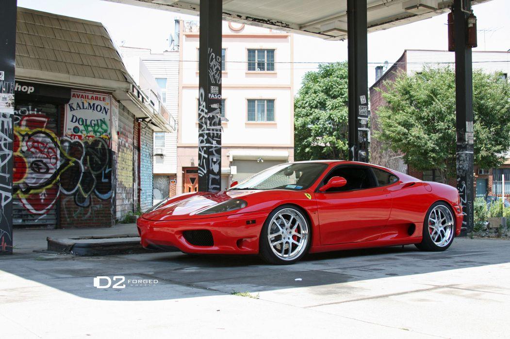 2012 D2Forged Ferrari 360 FMS-08 supercars supercar r wallpaper