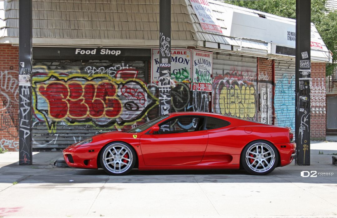 2012 D2Forged Ferrari 360 FMS-08 supercars supercar t wallpaper