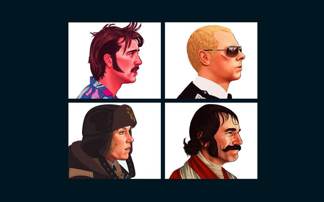 Hot Fuzz Fargo Gangs Of New York Wallpaper 1680x1050