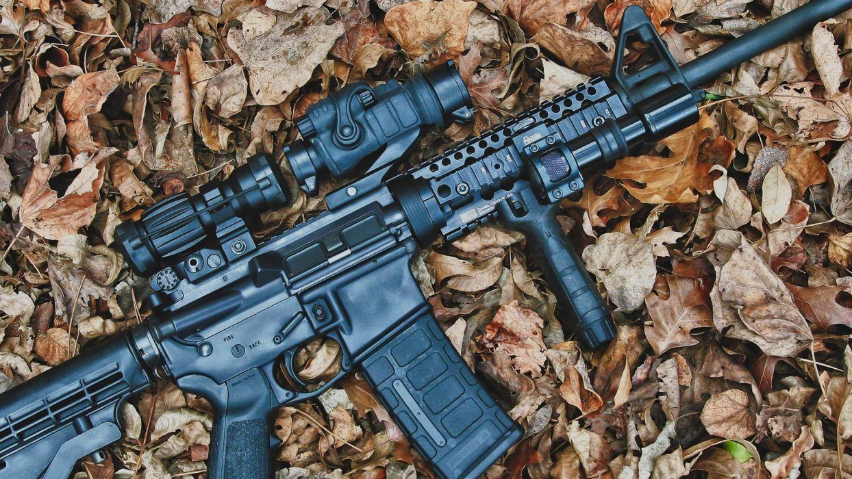 Rifle Assault Rifle weapons guns military wallpaper