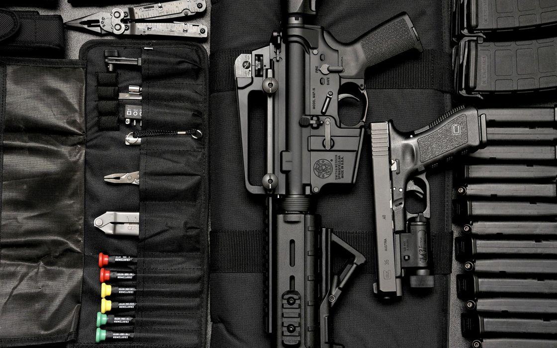 Rifle Handgun Assault Rifle Tools wepons guns military wallpaper