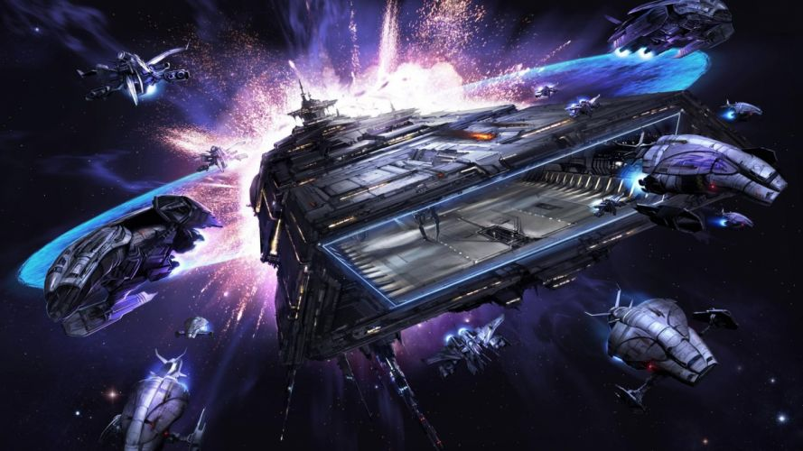 Spaceships X-Rebirth space spaceship wallpaper