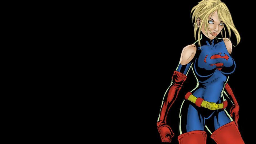Supergirl DC-comics Black superman wallpaper