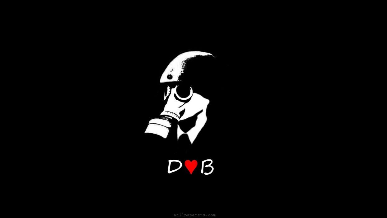 Drum-n-Bass drum bass dnb electronic Drum-and-Bass dark mask gas wallpaper