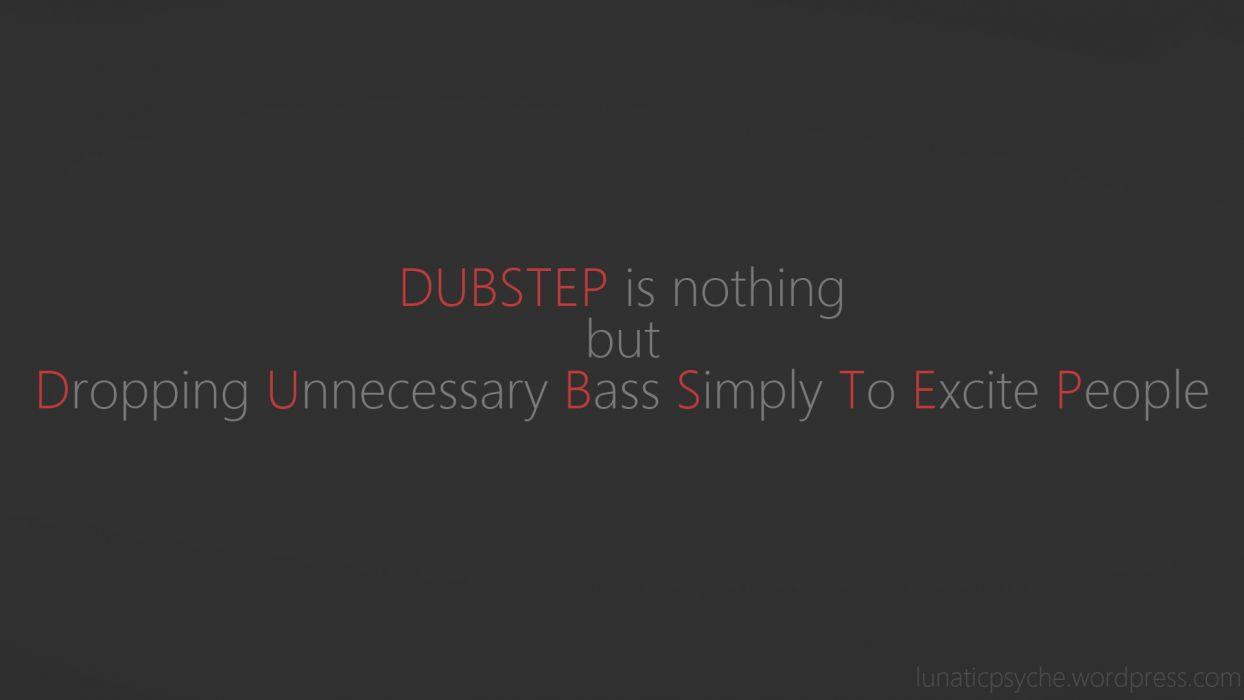 dubstep electronic         a wallpaper