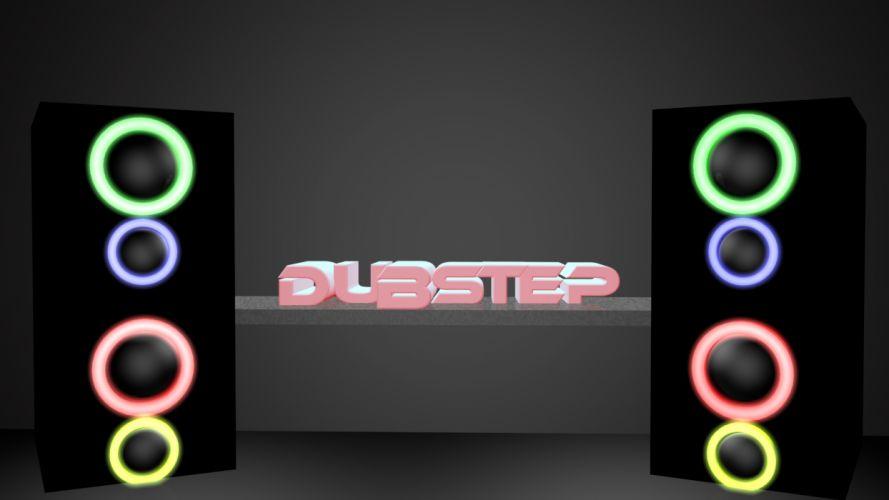 dubstep electronic speaker speakers e wallpaper